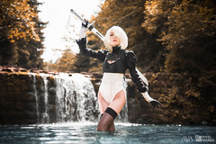 2B (NieR: Automata) (Avarcair) Tags: 2b nier automata yorha pixelmania pixelmania2k19 lubomierz avarcair ava cosplay cosplayphotography costume convention anime manga fantasy science fiction scifi endzeit game square enix platinum games photoshop photography lightroom