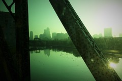 Someday (michael.veltman) Tags: commute commuting commuter train metra chicago illinois river