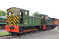 D2205 + D2139 (ANDY'S UK TRANSPORT PAGE) Tags: trains rowsley peakrail