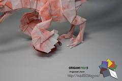 Deinonychus (Rydos) Tags: paper origami art hanji koreanpaper korean paperfold fold folding paperfolding designed design model papermodel korea origamilst dinosaur origamipro5 origamipro horseshoecrab horseshoe crab deinonychus smilodon carnotaurus spinosaurus terror bird terrorbird dunkleosteus mammoth quetzlcoatlus triceratops paraceratherium therizinosaurus han ji woo jang yong ik jeong jea il kim jin lee in seop meang hyeong kyu park jong yoo tea hanjiwoo jangyongik jeongjeail kimjinwoo leeinseop meanghyeongkyu parkjongwoo yooteayong washi