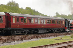 7828 (ANDY'S UK TRANSPORT PAGE) Tags: trains rowsley peakrail coaches