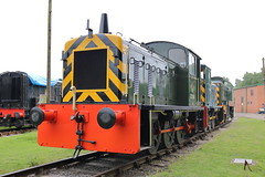 D2284 + PWM654 + D9525 (ANDY'S UK TRANSPORT PAGE) Tags: trains rowsley peakrail