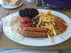 Photo of Full English with extra black pudding at Selsdon Cafe