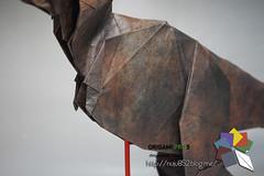 Carnotaurus (Rydos) Tags: paper origami art hanji koreanpaper korean paperfold fold folding paperfolding designed design model papermodel korea origamilst dinosaur origamipro5 origamipro horseshoecrab horseshoe crab deinonychus smilodon carnotaurus spinosaurus terror bird terrorbird dunkleosteus mammoth quetzlcoatlus triceratops paraceratherium therizinosaurus han ji woo jang yong ik jeong jea il kim jin lee in seop meang hyeong kyu park jong yoo tea hanjiwoo jangyongik jeongjeail kimjinwoo leeinseop meanghyeongkyu parkjongwoo yooteayong washi