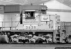 An Exercise in Patience (jamesbelmont) Tags: unionpacific provoyard provoswitcher provo utah emd sd45 train railroad railway locomotive engineer patience boredom