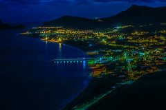 Santo Porto bei Nacht