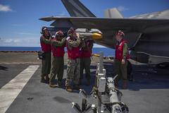 Marine Corps F-35B Lightning II completes defensive combat air patrol rehearsal with live AIM-9X missile (MarineCorpsAviationAssociation) Tags: 31stmarineexpeditionaryunit battalionlandingteam 2ndbattalion 1stmarines combatlogisticsbattalion31 marinemediumtiltrotorsquadron265reinforced commandelement groundcombatelement logisticscombatelement aviationcombatelement iiimarineexpeditionaryforce amphibiousassaultshipusswasplhd1 amphibioustransportdockussgreenbaylpd20 docklandingshipussashlandlsd48 7thfleet 31stmeu blt21 clb31 vmm265rein iiimef lhd1 lpd20 lsd48 okinawa japan marinecorps indopacific ready partnered lethal marineairgroundtaskforce magtf mv22bospreytiltrotoraircraft f35blightningii ch53esuperstallionhelicopter ah1zviperhelicopter uh1yhvenomhelicopter ordnance pacificocean