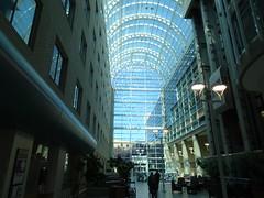 Royal Alexandra Hospital lobby, Edmonton (Trinimusic2008 -blessings) Tags: summer canada nature august alberta gratitude 2019 trinimusic2008 peggyandted judymeikle edmonton royalalexandrahospital sonydschx80 atrium