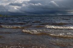 Seliger Lake (Lyutik966) Tags: seligerlake water wave sky cloud nature russia ostashkov coth5