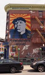 Brooklyn Love Building (neilsonabeel) Tags: nikonfm2 nikon nikkor film analogue brooklyn mural streetart newyorkcity biggiesmalls street buiding
