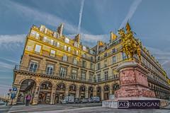 PARIS (01dgn) Tags: jeandarc paris fransa frankreich france europa europe avrupa streetphotography perspective wideangle canoneos700d city jeannedarc weitwinkel