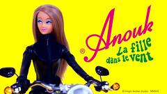 Anouk, series 4: La fille dans le vent (criscrash13) Tags: anouk poupée doll fashiondoll vintage mod retro collector yeye new virginarcherstudio navsikand