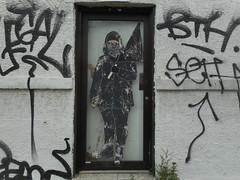 (navejo) Tags: montreal quebec canada wall art grafitti door
