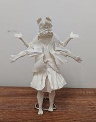 Asura (Lê Huỳnh Đức) Tags: origami art paper papercraft papersculpture religion buddhism asura