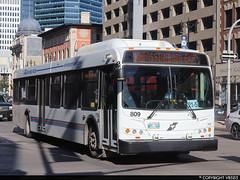Winnipeg Transit #809 (vb5215's Transportation Gallery) Tags: winnipeg transit 2013 new flyer d40lfr