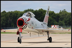 LAST OF ITS KIND (Scramble4_Imaging) Tags: northamerican fj4 fj4b fury jet fighter usn usnavy unitedstatesnavy navalaviation military weapon aviation airplane aerospace aircraft n400fs 143575