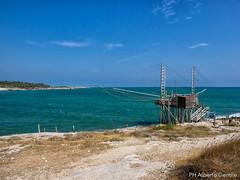 Trabucco di Baia San Lorenzo - Vieste (albygent Alberto Gentile) Tags: vieste trabucco pesca sea mare