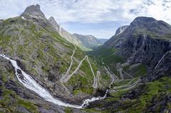 Trollstigen – The Troll's Road and Stigfossen Waterfall