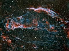 Veil Nebula (Justinsane333) Tags: nebula dso meade zwo astrophotography astrometrydotnet:id=nova3616838 astrometrydotnet:status=solved