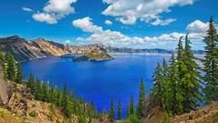 Crater Lake 6152 D (jim.choate59) Tags: jchoate on1pics craterlake oregon landscape southernoregon d610 scenic blue lake klamathcounty mountmazama explosion snow recordsnow deepestlake geology