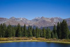 View From Little Molas Lake (Bernie Emmons) Tags: lake mountains trees sanjuannationalforest molaslake colorado