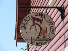 Their Sign (jamica1) Tags: barn owl brewing company mission kelowna bc okanagan british columbia canada