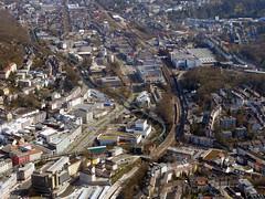 Wuppertal-Elberfeld (Carsten Weigel) Tags: nrw rundflug carstenweigel panasonicg9 panasonic14140mmf3556 wuppertal zentrum elberfeld schwebebahn bergischesland