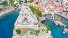 Bokar Fortress in Dubrovnik, Croatia