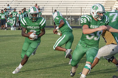 096 (DwightJodon) Tags: photobydwightjodon eunicehighschool kaplanhighschool catholichighnewiberia catholichigh eunice kaplan newiberia football scrimmage bobcatfield ehs bobcats pirates eunicela