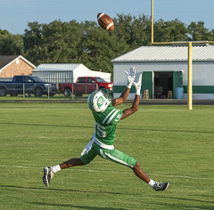 093 (DwightJodon) Tags: photobydwightjodon eunicehighschool kaplanhighschool catholichighnewiberia catholichigh eunice kaplan newiberia football scrimmage bobcatfield ehs bobcats pirates eunicela