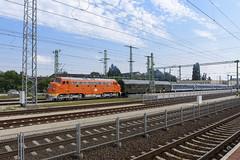 M61 019 & 1972 Tekergő gyorsvonat (Csundi) Tags: railroad hungary nohab