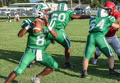 077 (DwightJodon) Tags: photobydwightjodon eunicehighschool kaplanhighschool catholichighnewiberia catholichigh eunice kaplan newiberia football scrimmage bobcatfield ehs bobcats pirates eunicela