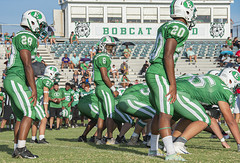 074 (DwightJodon) Tags: photobydwightjodon eunicehighschool kaplanhighschool catholichighnewiberia catholichigh eunice kaplan newiberia football scrimmage bobcatfield ehs bobcats pirates eunicela