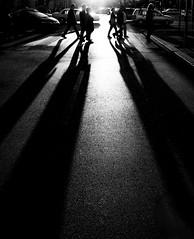 Crossing (CoolMcFlash) Tags: street streetphotography candid shadow bnw blackandwhite bw blackwhite vienna canon eos 60d people schatten sw schwarzweis wien fotografie silhouette kontur tamron b008 18270 traffic citylife city stadt urban car auto