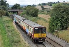 37-884-EMU-314-207-5Q78-Bayston-Hill-23-8-2019 - (D1021) Tags: class37 37884 5q78 rog railoperationsgroup scotrail emu class314 314207 baystonhill burgslane shrewsbury shropshire nikond700 d700