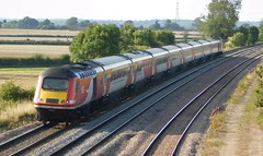 LNER 43251 & 43257 - Elford, Staffordshire (The Black Country Spotter) Tags: lner crosscountry trains class43 powercar 43251 43257 hst highspeedtrain intercity125 elford tamworth staffordshire edinburgh plymouth networkrail britishrailways