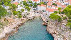 Strand Suluci in Dubrovnik, Kroatien