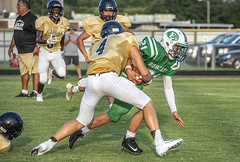 095 (DwightJodon) Tags: photobydwightjodon eunicehighschool kaplanhighschool catholichighnewiberia catholichigh eunice kaplan newiberia football scrimmage bobcatfield ehs bobcats pirates eunicela
