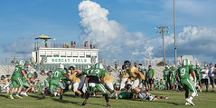 090 (DwightJodon) Tags: photobydwightjodon eunicehighschool kaplanhighschool catholichighnewiberia catholichigh eunice kaplan newiberia football scrimmage bobcatfield ehs bobcats pirates eunicela