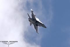 F/A-18C Hornet (P.Thuresson Photography) Tags: swiss hornet f18 vapour sky falcons sweden ronneby kallinge payerne tigers fliegerstaffel11 fliegerstaffel17 noaoalimits aviation aviationgeek fighterjets pilot blekinge