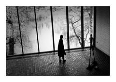 Silhouettes (Jean-Louis DUMAS) Tags: girl woman femme silhouette sculpture art artistic statue blackandwhite noirblanc noir noiretblanc nb black bw