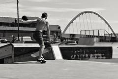 Skater boy (dereksalisbury68) Tags: bolton manchester manchesterstreetphotography streetphotography skateboard skateboarding blackwhite urban