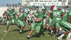 075 (DwightJodon) Tags: photobydwightjodon eunicehighschool kaplanhighschool catholichighnewiberia catholichigh eunice kaplan newiberia football scrimmage bobcatfield ehs bobcats pirates eunicela