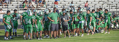072 (DwightJodon) Tags: photobydwightjodon eunicehighschool kaplanhighschool catholichighnewiberia catholichigh eunice kaplan newiberia football scrimmage bobcatfield ehs bobcats pirates eunicela