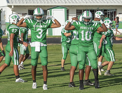 066 (DwightJodon) Tags: photobydwightjodon eunicehighschool kaplanhighschool catholichighnewiberia catholichigh eunice kaplan newiberia football scrimmage bobcatfield ehs bobcats pirates eunicela