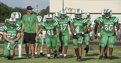 063 (DwightJodon) Tags: photobydwightjodon eunicehighschool kaplanhighschool catholichighnewiberia catholichigh eunice kaplan newiberia football scrimmage bobcatfield ehs bobcats pirates eunicela