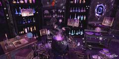 #105 - The Young Merlin (Yvain Vayandar) Tags: enchantment event secondlife sl magic magician wizard fairy fantasy medieval roleplay potion roawenwood mf damselfly reveobscura mooh ~xantes~ krescendo lorien drd thehalfmoonmarket {anc} jian 22769 revival dad