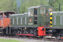 D2139 (1) (ANDY'S UK TRANSPORT PAGE) Tags: trains rowsley peakrail class03