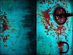0030043 (onesecbeforethedub) Tags: vilem flusser technical images onesecbeforetheend onesecbeforethedub onesecaftertheend photoshop multiple exposure collage malta edinburgh contemporaryart streamofconsciousness details diptych rust decay industrial anthropomorphism anthropocene