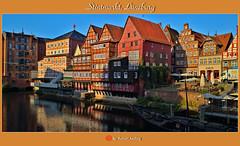 Stintmarkt Lüneburg (shaman_healing) Tags: lüneburg stadt architektur himmel germany deutschland ilmenau farben colors fotografie photography flickr